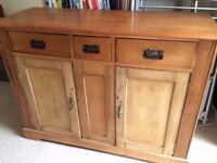 Small antique sideboard for sale