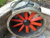 INDUSTRIAL EXTRACTOR FAN 440V