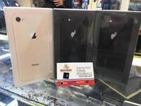 iphone 8 64gb brand new seal box 12 month APPLE WARRANTY