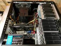 Gaming pc ' Intel 6 core ' 12gb ram ' 250gb ssd ' gtx750