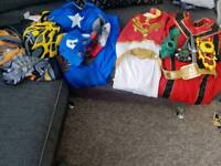 4 x Various dress up outfits age 7-8