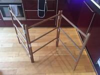 Wooden Clothes Airer