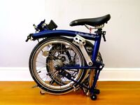 Brompton Folding Bike in great condition!