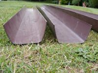 Marley Flowline Guttering - Brown - 112 x 60mm