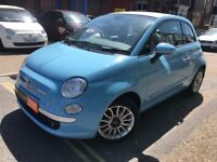 2012 Fiat 500C 0.9cc TwinAir, FINANCE, £0 Tax, Convertible, Part Leather, Alloys, Parking Sensors