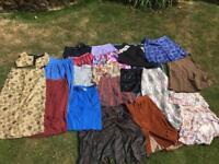 Various vintage skirts
