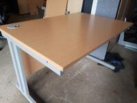 beech 1200 mm executive beech office desks