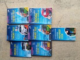 Driving theory test books DSA