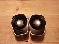 Logitech Z120 Computer Speakers as brand new