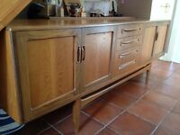 G Plan dining table & sideboard