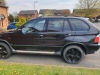 Black BMW X5 E53 3.0i SPORT Petrol 4x4 AUTOMATIC GAREBOX 2002