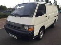 Toyota hiace 1 owner from new ful service from Toyota