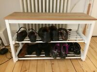 John Lewis Shoe Rack (Croft Collection) - Brand new and still in box!