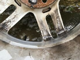 "Genuine Audi 18""Audi Alloy Wheel"