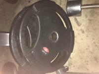 2 x 20Kg Olympic Weight plates