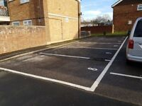 PARKING SPACES TO RENT: Cadnam Close off Selborne Avenue Aldershot GU11 3RN
