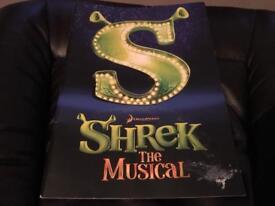 Shrek the musical official programme 2011