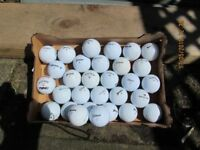 30 GOOD QUALITY MIXED GOLF BALLS