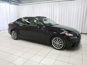 2014 Lexus IS 250 WOW!!! AWD SEDAN WITH HEATED SEATS, NAVIGATION