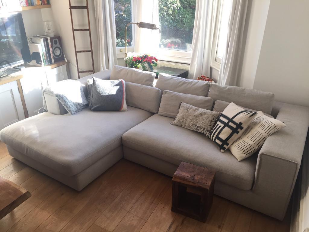 L Shaped 4 Seater Sofa Design Comfy Swiss Quality