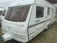 Coachman laser 590/4 4 berth 2005 twin axle touring caravan