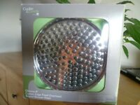 """Cooke and Lewis 8"""" round chrome shower head"""