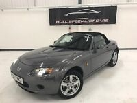 2007 MAZDA MX-5 MK3 1.8I ROADSTER WITH MOT TO OCTOBER 2017, FULL HISTORY, MET PAINT, ALLOYS +MORE