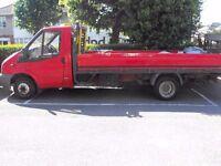 ***2008 Ford Transit 2.4 Diesel Flat Bed Tail Gate NO VAT!!!***