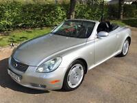 Lexus SC 430 4.3 2dr AUTO CONVERTIBLE .. 1 YEARS MOT.. DRIVES SUPERB...