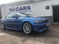 2005 BMW 330 M SPORT BLUE