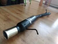 Fiesta mk6 sports exhaust back box