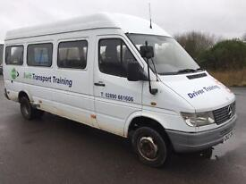 1999 Mercedes Sprinter 412 LWB mini bus