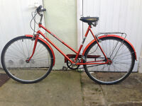 Vintage Ladies Puch Elegance RED 3 gears