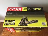 Brand new Ryobi petrol chainsaw