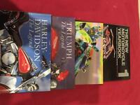 Motor bike reference books