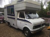 Bedford cf 250 camper van