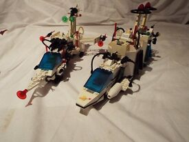 Lego Sets 6780 XT Starship & 6783 Sonar Transmitting Cruiser - Light & Sound