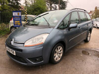 Citroen C4 Grand Picasso VTR HDI 1.6 Diesel 7 Seater Automatic 2010