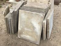 Reclaimed Concrete Paving Slabs 30ins x 24ins