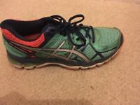 Aesics women's running shoes