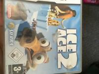Nintendo DS Game Christmas present ice Age 2