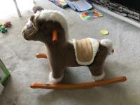 Mamas and Papas child's rocking horse
