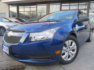 2013 Chevrolet Cruze LS-BLUE-TOOTH-HEATED-AUTO-1-OWNER
