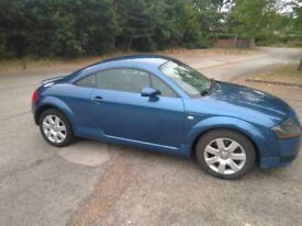 2005 Audi TT Mk1 8N 12 months mot