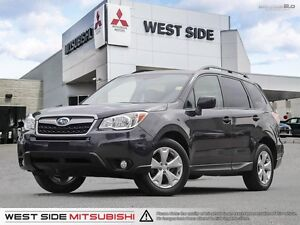 2015 Subaru Forester iTouring–Accident Free–One Owner–AWD–