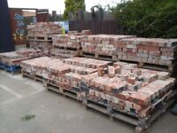 Reclaimed Red Bricks 60p each