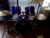 Black Rat 5pc drum kit £120