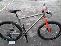 Marin Pine Mountain 1 Brand New Steel Mountain Bike Plus Sized 27.5 Wheels Limited Edition