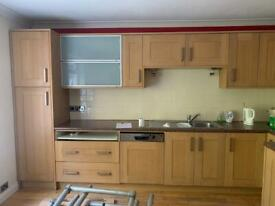 Kitchen units and work bench