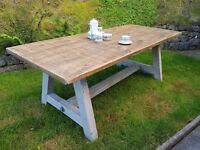 Dining Table (Large Shabby Chic Style)